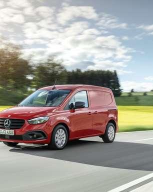 Lançamento da Nova Citan; Mercedes diz ser sua última van não elétrica