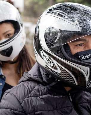Uber Moto expande viagens por motocicleta para cidades do Brasil