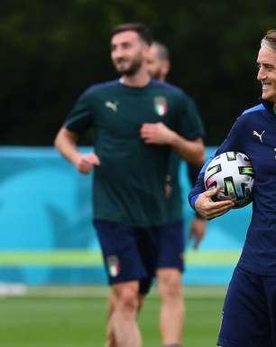 Mancini convoca Itália com Jorginho, Emerson e Rafael Tolói