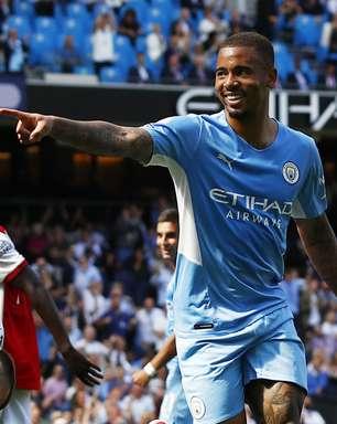 Com gol de Gabriel Jesus, Manchester City goleia o Arsenal