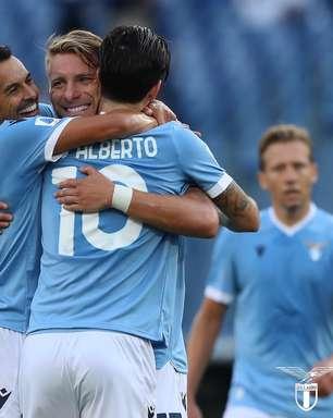 Immobile faz 3, Felipe Anderson marca e Lazio goleia Spezia