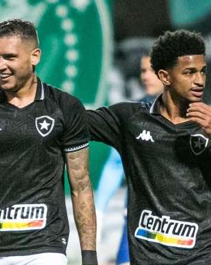 Botafogo vence o Coritiba no Paraná e dorme no G4 da Série B