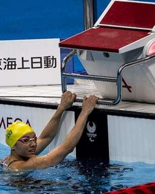 Brasil garante mais oito finais na natação nos Jogos Paralímpicos com direito a quebra de recorde