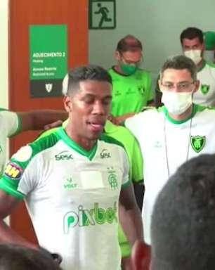 AMÉRICA-MG: Berrío comanda discurso após vitória contra o Ceará