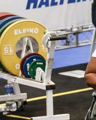 Paralimpíadas: Tayana Medeiros fica na quinta colocação no halterofilismo