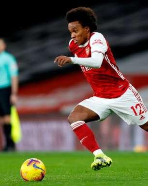 Willian rescinde com o Arsenal e fica perto do Corinthians