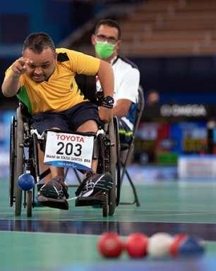Maciel Santos vence e garante vaga na semifinal da bocha nos Jogos Paralímpicos de Tóquio