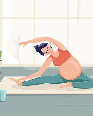 7 exercícios relaxantes para aliviar a dor no quadril durante a gravidez