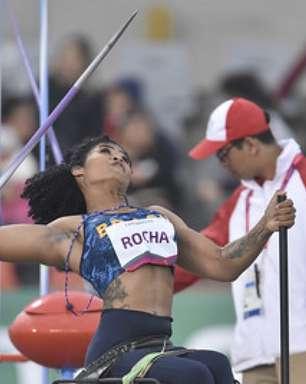 Raissa Machado conquista medalha de prata no lançamento de disco nos Jogos Paralímpicos