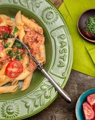 Receita de macarrão com atum para uma refeição rápida