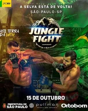 Com oportunidade a atletas de projetos sociais, Jungle Fight 103 vai acontecer em outubro, em São Paulo