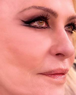 Ana Maria Braga exibe maquiagem inspirada em 'O Clone'