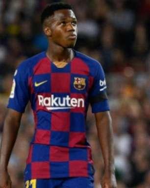 Ansu Fati herda camisa 10 de Messi no Barcelona