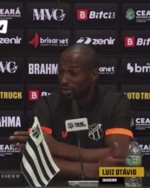 "CEARÁ: ""Fomos pegos de surpresa"", aponta Luiz Otávio sobre a saída de Guto Ferreira"