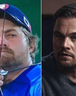 Atleta faz sucesso por ser a cara de Leonardo DiCaprio
