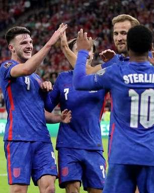 Inglaterra goleia Hungria fora de casa pelas Eliminatórias