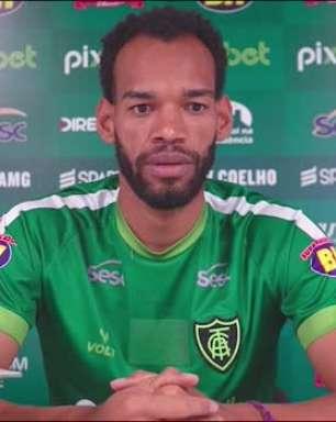 AMÉRICA-MG: Anderson elogia contratação de Diego Costa, crê que futebol mineiro ganha com isso e instiga clubes a contratarem melhor
