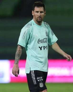 Com Messi, Argentina vai treinar no Parque São Jorge