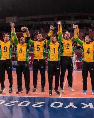 Paralimpíadas de Tóquio: Brasil conquista ouro inédito no goalball