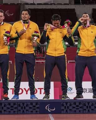 Resumo: ouros de Thiago Paulino e goalball igualam recorde