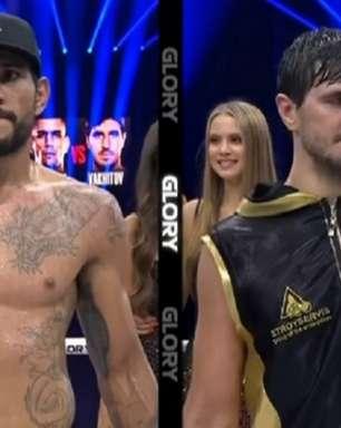 Novo lutador do UFC, Alex Poatan é derrotado por russo em disputa de cinturão no GLORY 78