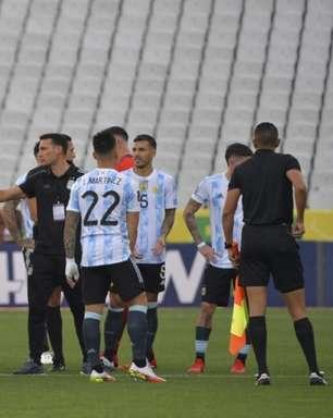 Conmebol suspende jogo entre Brasil e Argentina