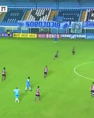 SÉRIE C: Gol de Paysandu 1 x 0 Santa Cruz
