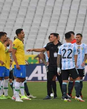 Brasil x Argentina: regulamento da Fifa deixa dúvidas