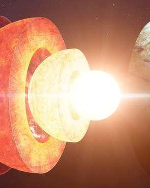 Por que o centro da Terra cresce mais de um lado do que outro, mas o planeta não inclina
