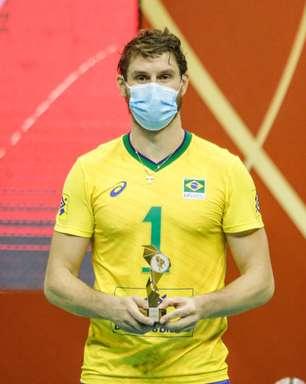 Bruninho destaca começo com pé direito em novo ciclo da Seleção de vôlei