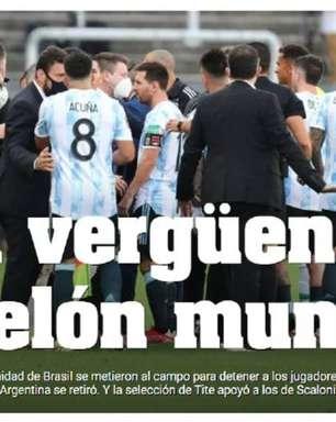 Suspensão de Brasil e Argentina ganha repercussão pelo mundo
