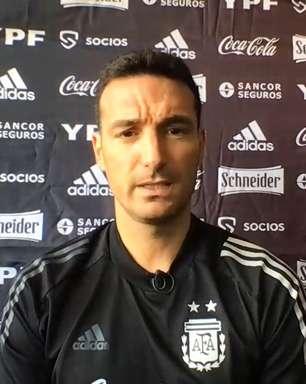 Técnico da Argentina defende seus jogadores