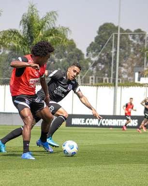 Corinthians treina com reforços de olho no Juventude