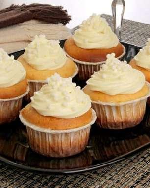 Cupcake de Leite Ninho® decorado