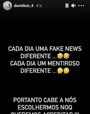 Especulado no Flamengo, David Luiz desabafa sobre rumores