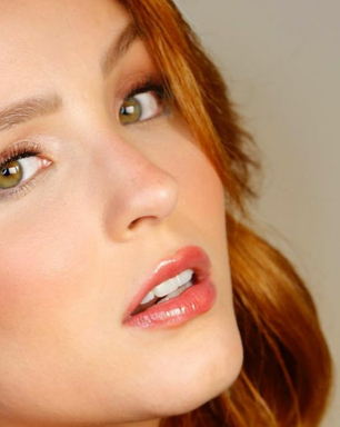 Larissa Manoela mostra como seguir trend da maquiagem leve