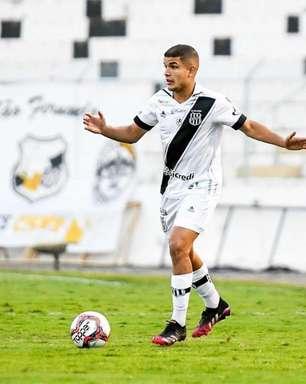 Felipe Albuquerque celebra primeiro gol como profissional e agradece oportunidades na Ponte Preta