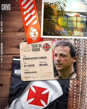 Vasco acerta com Fernando Diniz para o lugar de Lisca
