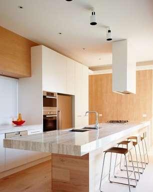 Cozinha Planejada com Ilha: Dicas para Decorar +63 Modelos Lindos