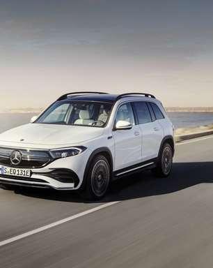 Mercedes-Benz confirma lançamento do EQB no Brasil; saiba mais
