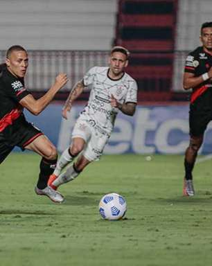 Corinthians sai na frente, mas Atlético-GO empata no fim