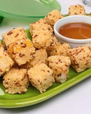 Receita prática de dadinho de tapioca com mel