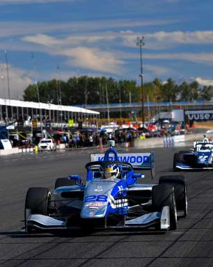 Kirkwood ultrapassa Malukas no começo e vence corrida 2 da Indy Lights em Portland