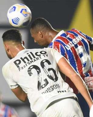 Dabove fica 'satisfeito' com empate na Vila Belmiro