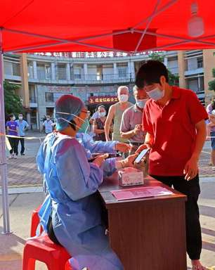 Casos de covid na China mais que dobram com variante Delta