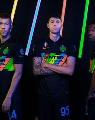 Inter de Milão lança seu terceiro uniforme