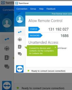Teamviewer: trabalho remoto com acesso remoto total