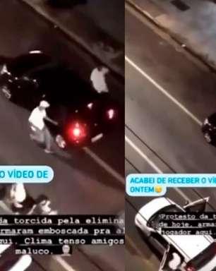 Diego Tardelli registra Boletim de Ocorrência e carro passará por perícia