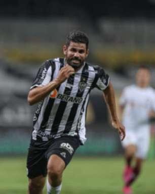 Cuca assume que não há pressa para ter Diego Costa titular