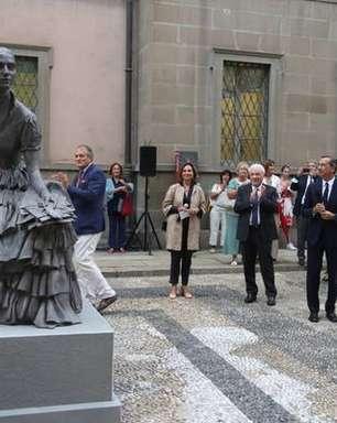 Milão ganha sua primeira estátua dedicada a uma mulher